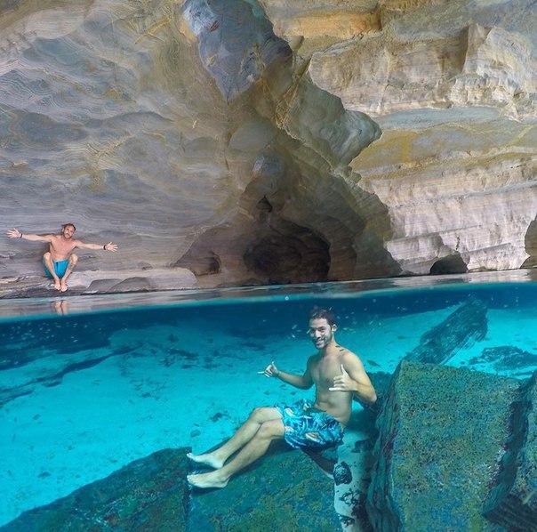 Нереальные селфи под водой