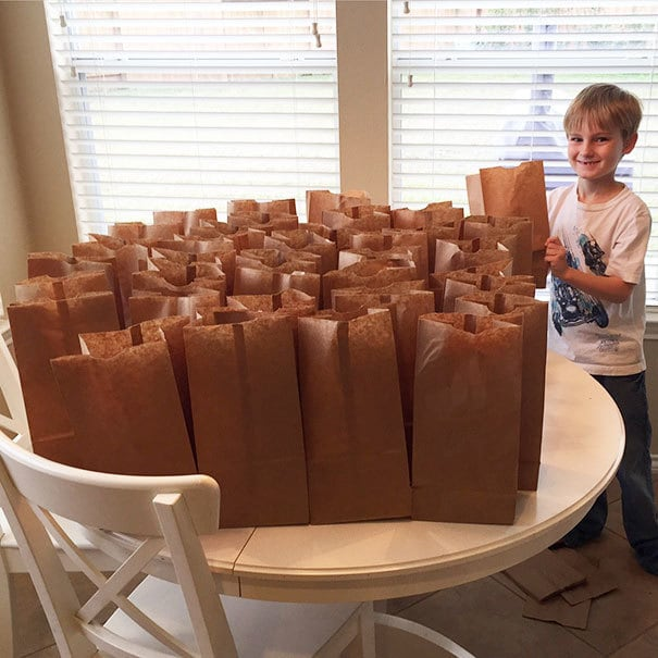 How My Son Wanted To Spend The $120 He Saved This Year. Saturday Morning, My Son Walked Into My Room And Said He Wanted To Use His Money To Help The Homeless. I Asked Him What He Had In Mind, And He Said He Wanted To Make Them Lunches