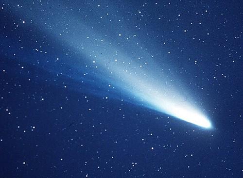 Halley's Comet in 1986
