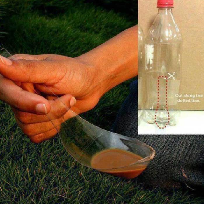 Полезная вещь из бутылки своими руками