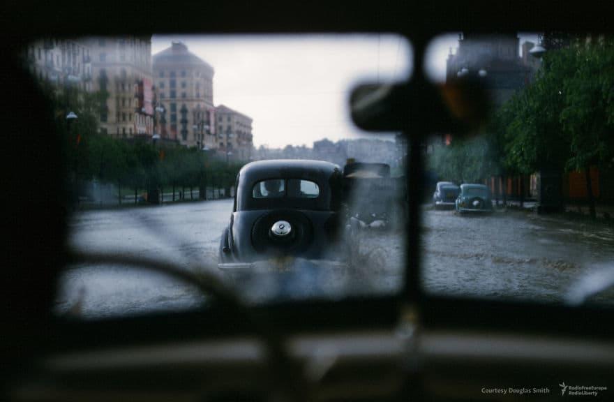 Затопленные улицы в Киеве