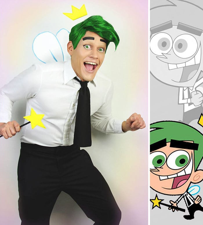 Cosmo From The Fairly Oddparents