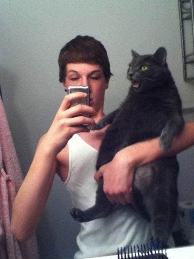 Не фотогеничные коты