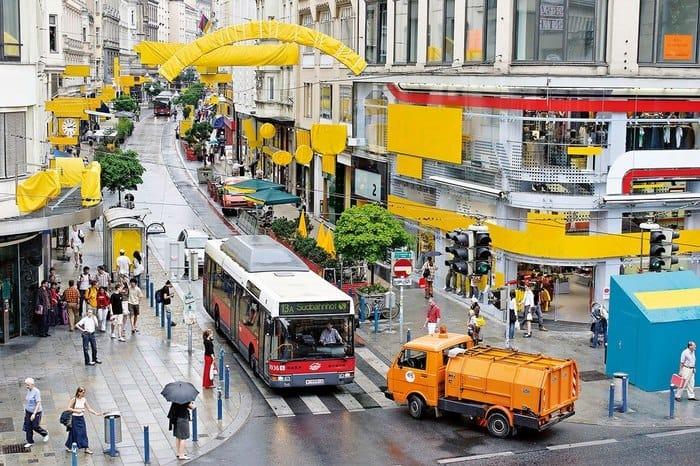 Визуальный мусор мусор, реклама, Экосфера, длиннопост, акция, Вена Австрия, экология