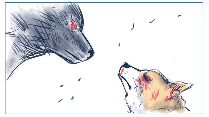 Приключения собачки по имени Коботь Комиксы, моё, корги, медведь, рисунок, хобби, длиннопост, Собака
