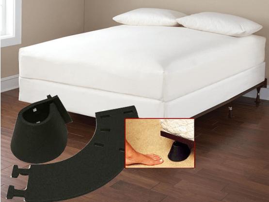 13. Мягкая защита для ножек кровати и стола, которая убережет ваши пальцы ног от болючих ударов гаджеты, неуклюжие, хитрости