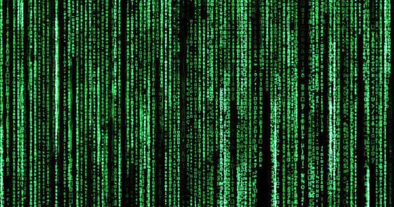 Зеленые коды из заставки «Матрицы» оказались рецептами суши заставка, кино, код, матрица, суши, фильм