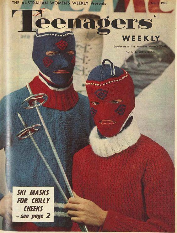 Sweet ski masks