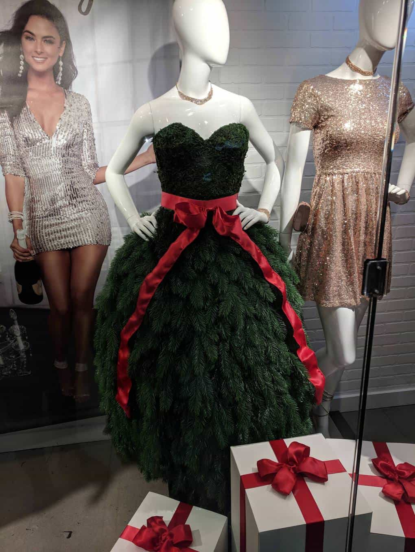 This festive dress.