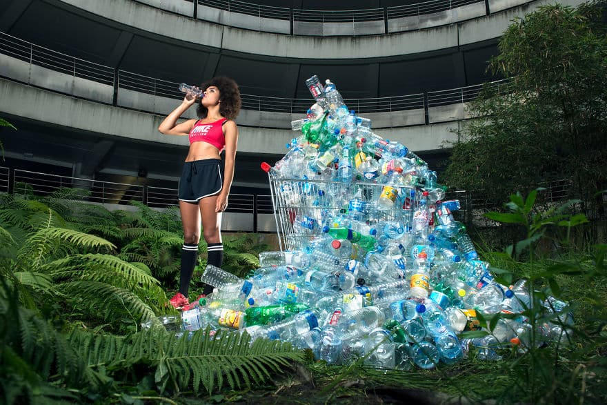 This Photographer Stored His Trash For 4 Years And Then Created This Powerful Photo Series