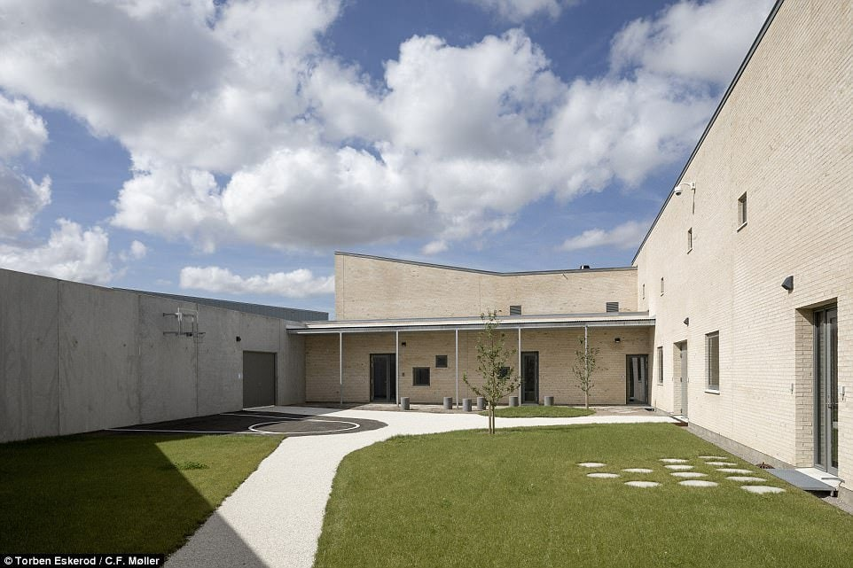 But Mandrup said it will take more than a well-designed prison to keep down re-offending rates, adding that it would be