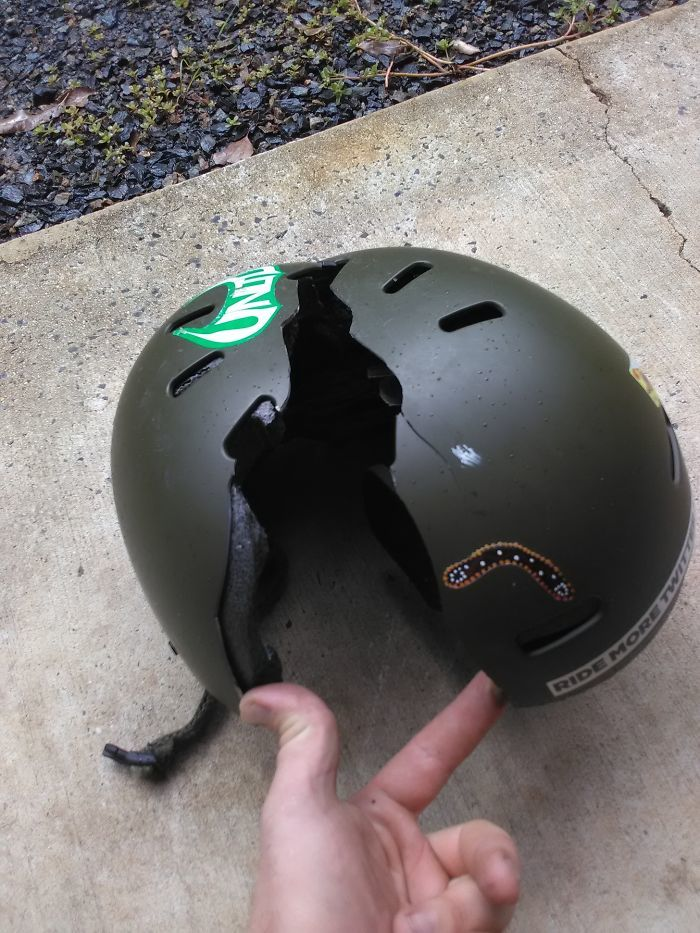 Daily Reminder To Wear A Helmet On The Snow
