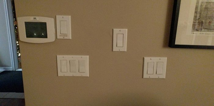 These Lights Switches In My Parents