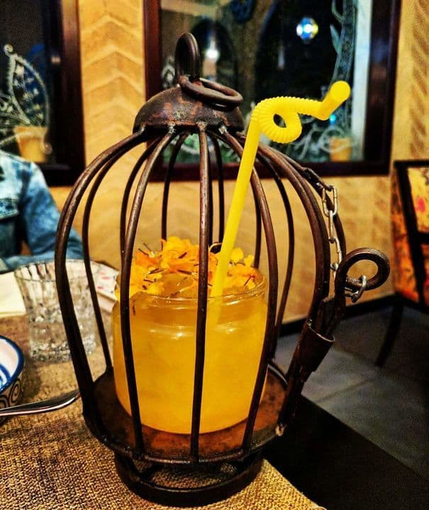 This Caged Cocktail