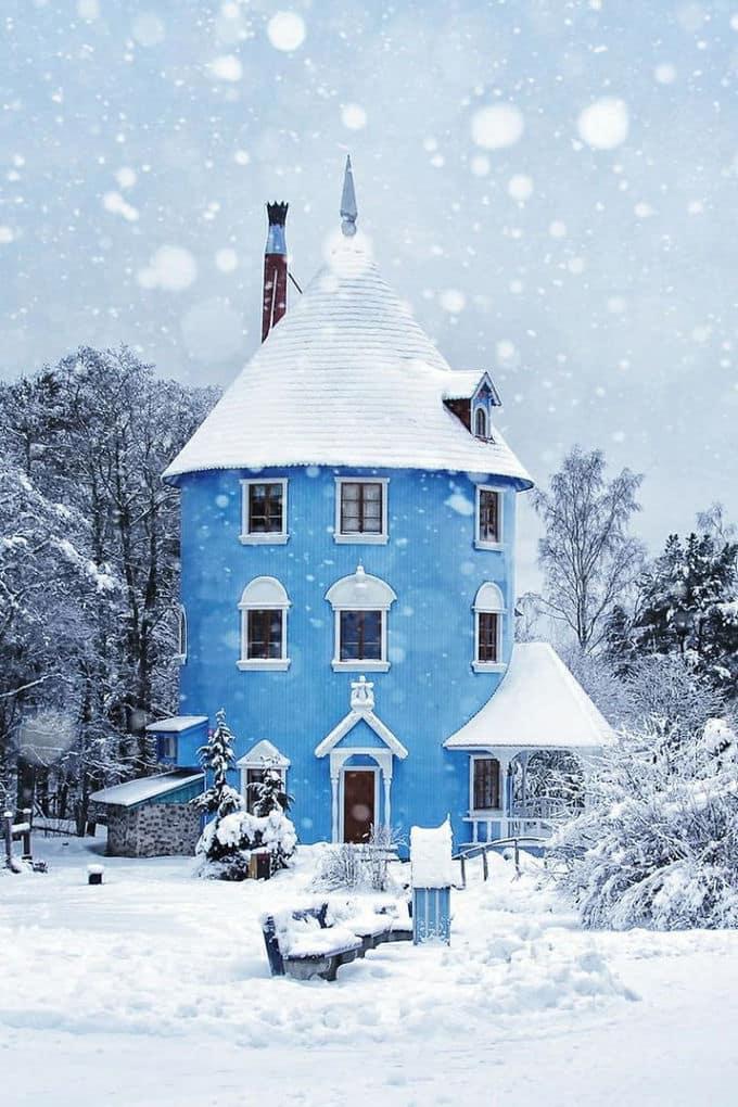 Moomin House In Naantali, Finland