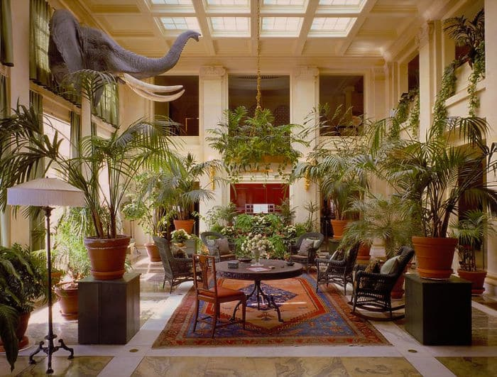 Conservatory Of The George Eastman House In Rochester, U.S.
