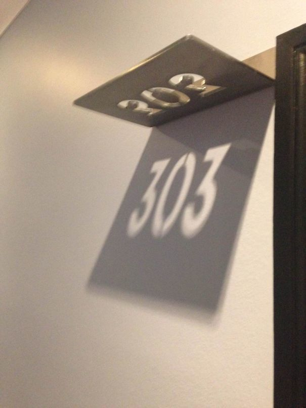 The Room Numbers At My Hotel Are Shadows