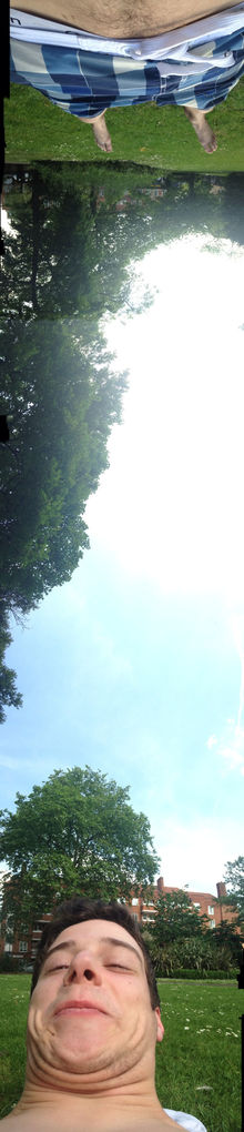 Took A Panorama Today In The Park