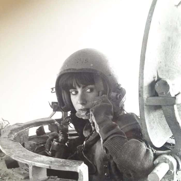 My Mother When She Was A Tank Instructor In 1984