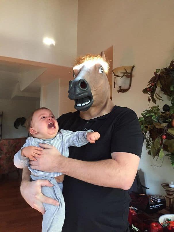 Принял моего сына к дяде Джо сегодня