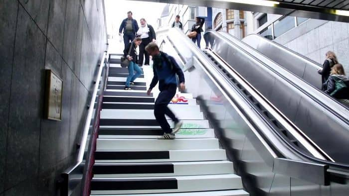 The Piano Stairs Experiment