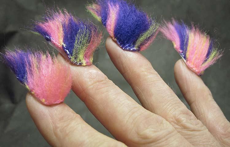 Картинки по запросу fluffy manicure
