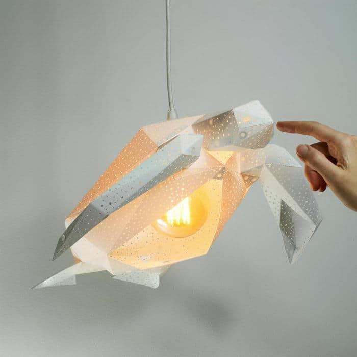 Бумажные лампы студии VasiliLights