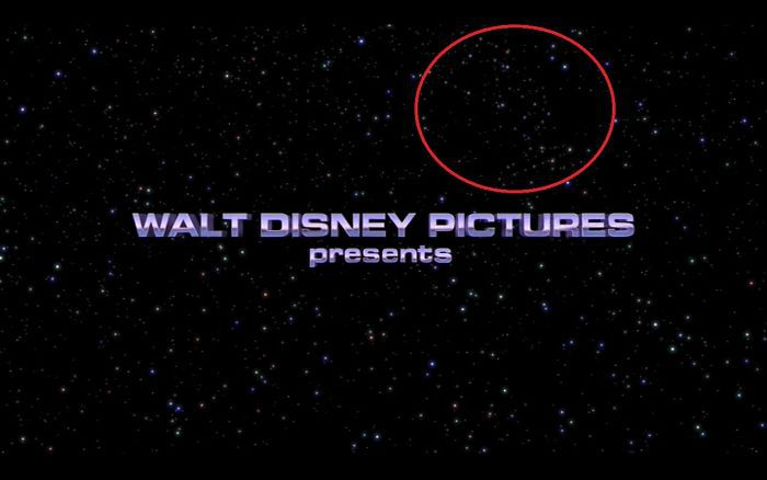 In Toy Story 2, Among Stars You Can Spot Hidden, Classic Pixar Lamp. This Is The Very First Shot Of The Movie
