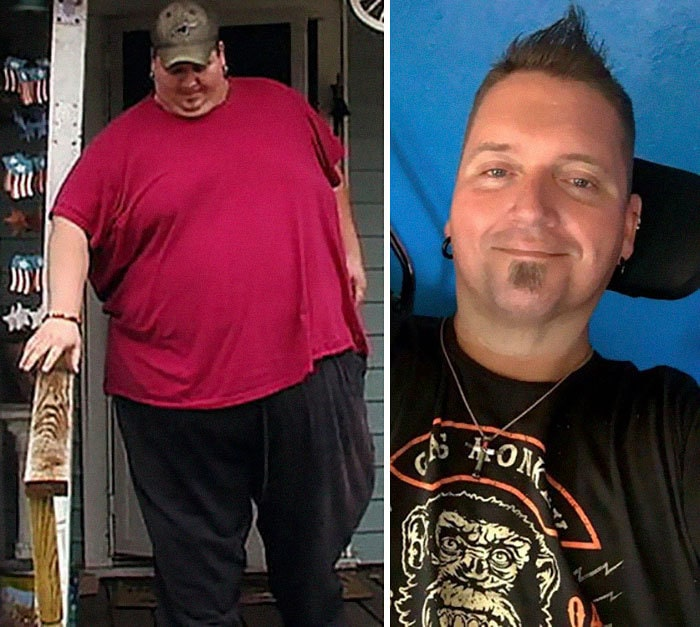 Дональд Шелтон был 675 фунтов, он упал до 295 фунтов