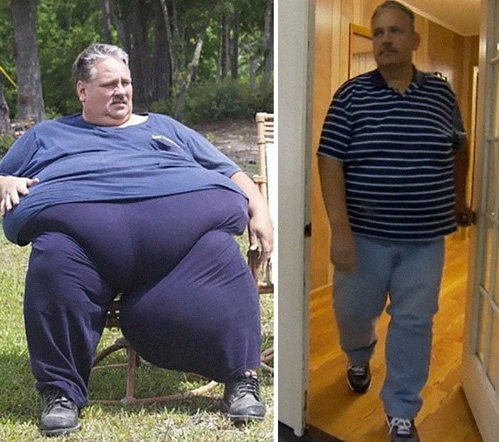 Чак Тернер был 693 фунта, он упал до 433 фунтов