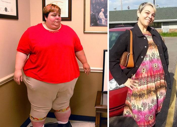 Паула Джонс потеряла 553 фунта, она упала до 269 фунтов