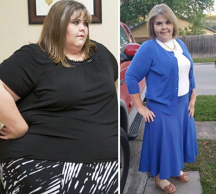 Zsalynn Whitworth был 600 фунтов, она упала до 300 фунтов
