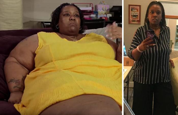Июнь Mccamey был 600 фунтов, она упала до 370 фунтов
