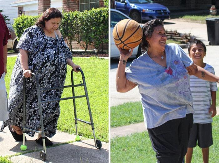 Оливия Круз была 580 фунтов, она упала до 200 фунтов