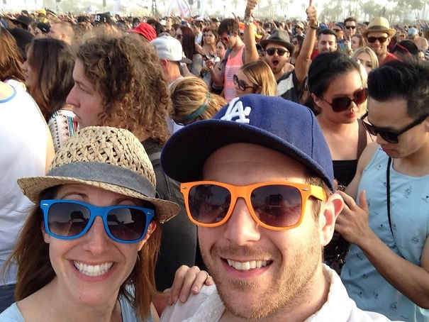 We Got Photobombed By Aaron Paul (Jesse Pinkman From Breaking Bad) At Coachella