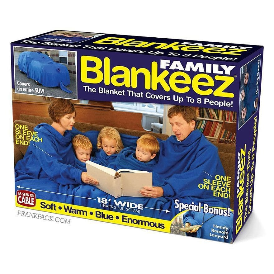 The Blanket That Covers Up To 8 People