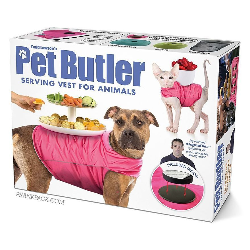 Serving Vest For Your Pet