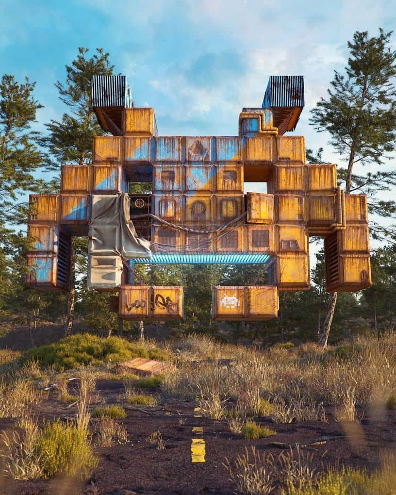 Pop Culture Apocalypse In Amazing Digital Art By Filip Hodas