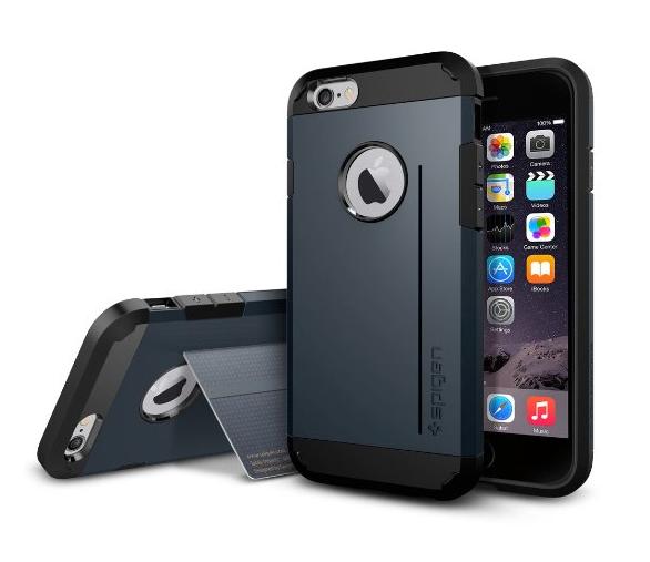 9. Стильный и прочный чехол для телефона со встроенной подставкой защитит ваш смартфон от удара гаджеты, неуклюжие, хитрости