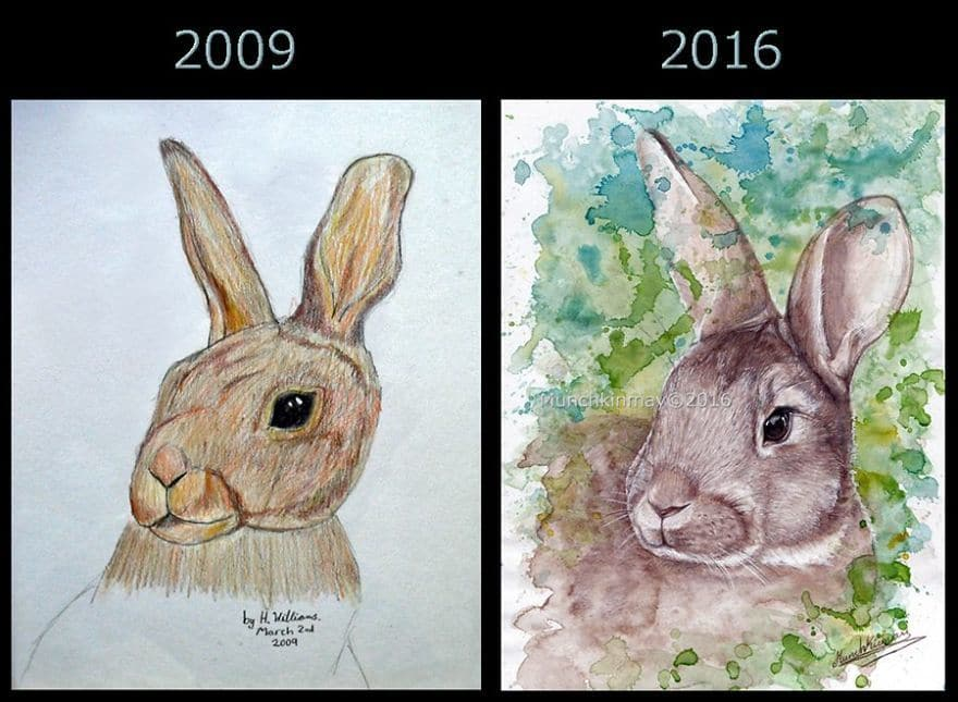 7 Years Difference By Munchkinmay!
