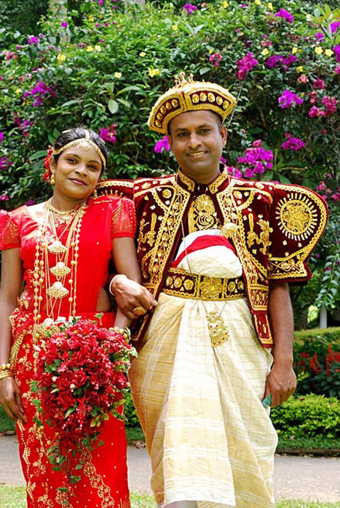 sri lanka traditional wedding outfits from around the world wedding dress bride groom