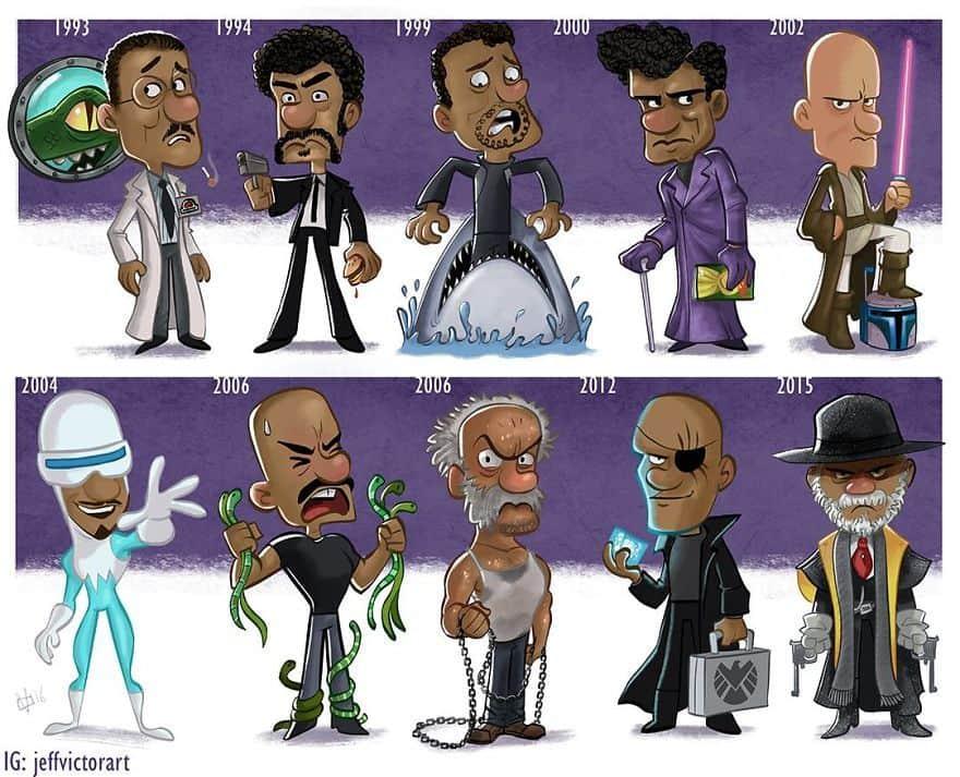 The Evolution Of Samuel L. Jackson
