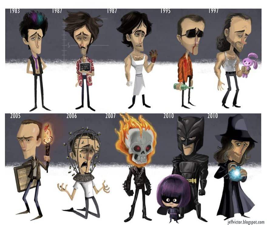 The Evolution Of Nicolas Cage