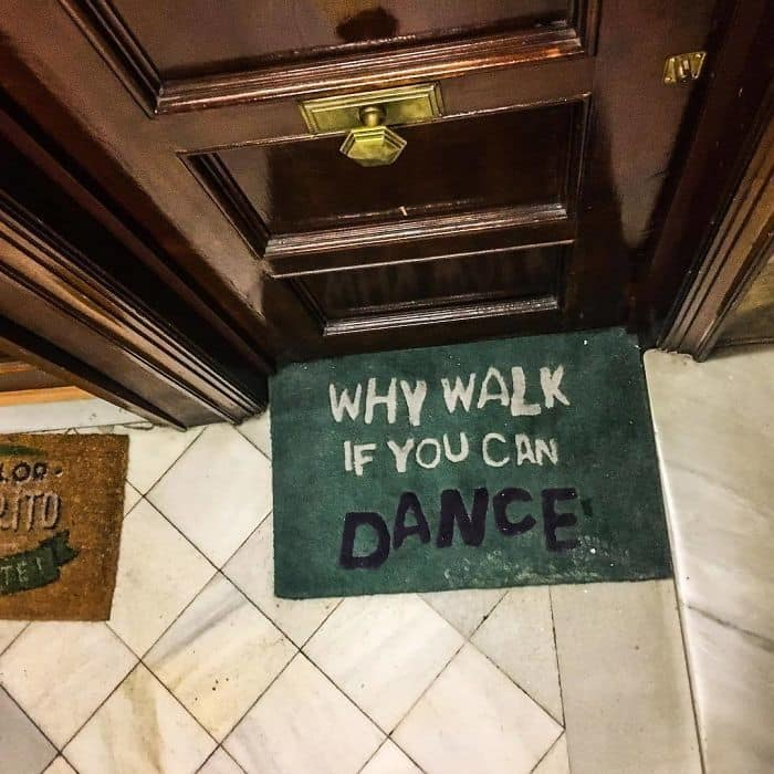 Good Advice From A Doormat...