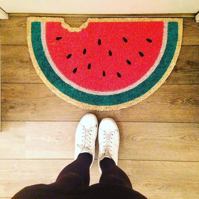 When I Realised I Needed A Doormat, What Else Could I Choose ?
