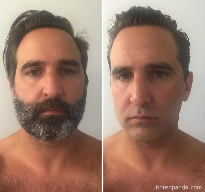 "At The Request Of My Wife, Daughter, And General Comments Of Me ""Looking My Age,"" I Took Part In Transformation Tuesday"