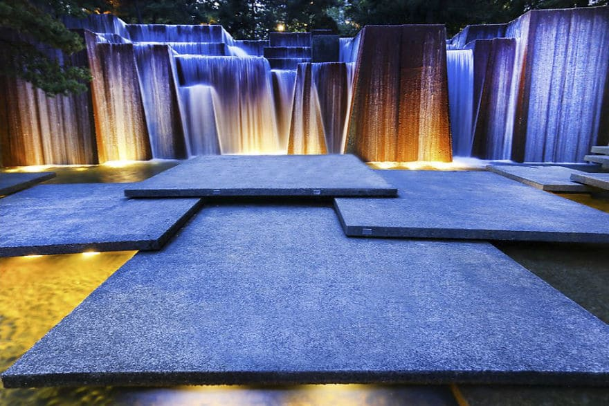 Keller Fountain, Portland, Oregon, USA