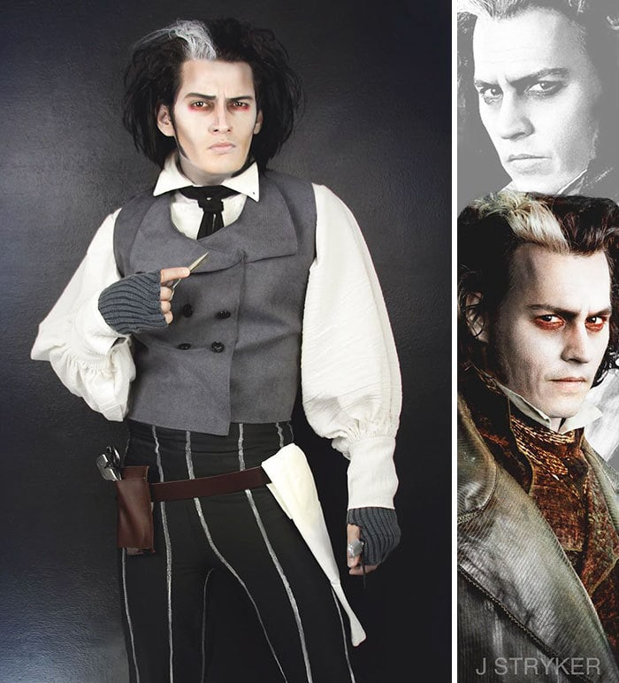 Sweeney Todd From Sweeney Todd: The Demon Barber Of Fleet Street
