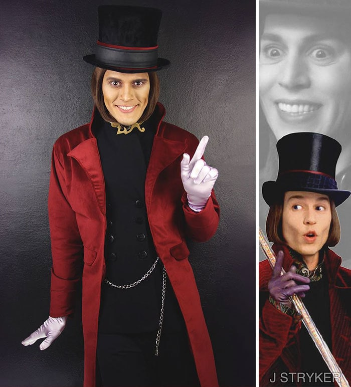 Willy Wonka From Charlie And The Chocolate Factory