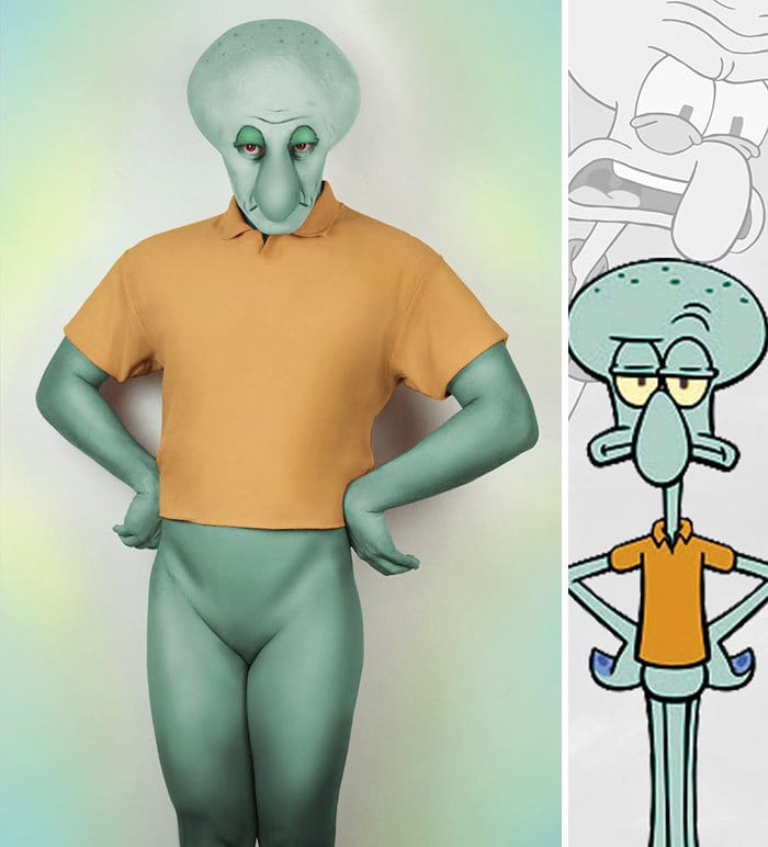 Squidward From Spongebob Squarepants